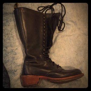 Dr. Martens black lace up boots
